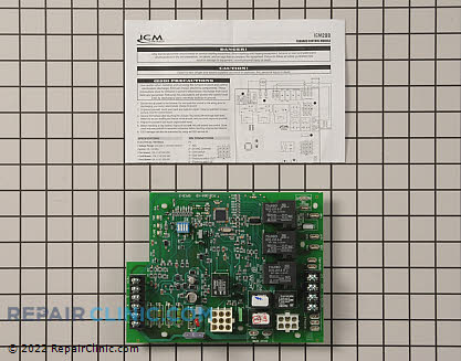 Control Board ICM288 Main Product View