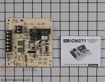Motor Control Board ICM271C Main Product View