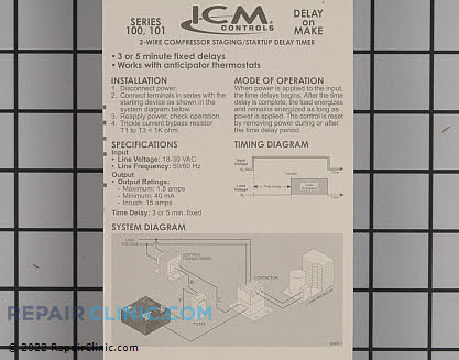 Timer ICM101F Main Product View