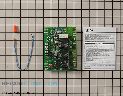 Control Board ICM289 Main Product View