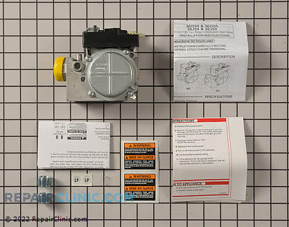 Gas Valve Assembly 36J55-214 Main Product View