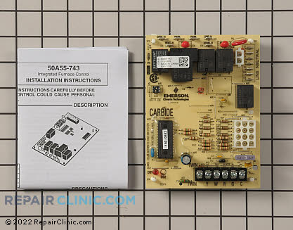 Control Board 50A55-743 Main Product View