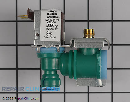 Water Inlet Valve W10394076       Main Product View