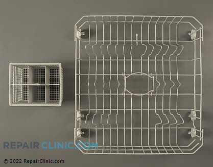 Lower Dishrack Assembly WD28X10324      Main Product View