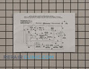 Wiring Diagram - Part # 1191246 Mfg Part # 134599000