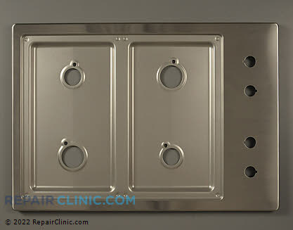 Metal Cooktop 36174S Main Product View