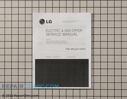 Repair Manual MFL62119910     Main Product View