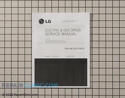 Repair Manual MFL62119910     Main Product View