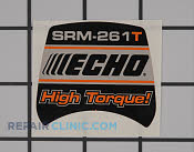 Decal - Part # 2268318 Mfg Part # X503006560