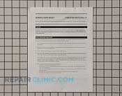 Service Tech Sheet - Part # 918102 Mfg Part # 318047204