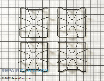 Burner Grate W10268483 Main Product View