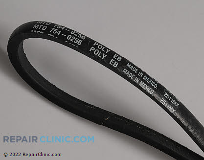 Belt: V-Belt 954-0256 Main Product View