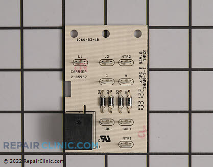 Relay Board 2-05957 Main Product View