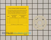 Gasket - Part # 2719367 Mfg Part # 64L80