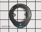 Knob Bezel - Part # 942639 Mfg Part # WB07X10482