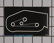 Decal - Part # 1852645 Mfg Part # 98-3480