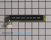 Display Board - Part # 769976 Mfg Part # WB27X10328