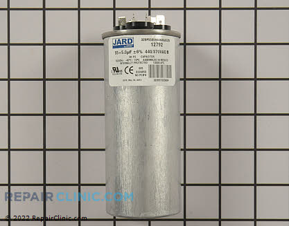 Dual Run Capacitor 12792 Main Product View
