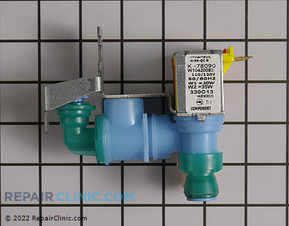 Water Inlet Valve W10420083 Main Product View