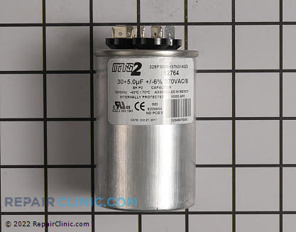 Dual Run Capacitor 12764 Main Product View