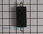 120 volt receptacle square fac - Part # 1951627 Mfg Part # 290400008