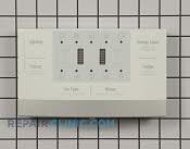 Dispenser Front Panel - Part # 2629366 Mfg Part # DA97-08118P
