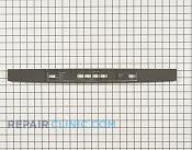 Control  Panel - Part # 3029016 Mfg Part # WD34X11829