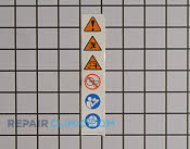 Decals and Labels - Part # 1956380 Mfg Part # 984032001