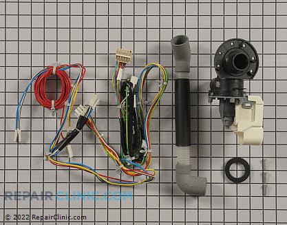 Drain Pump W10536869       Main Product View