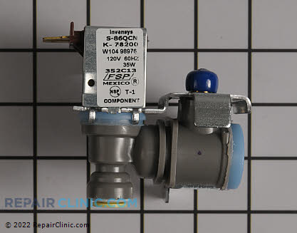 Water Inlet Valve W10498976 Main Product View