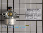 Carburetor - Part # 1641523 Mfg Part # 494216