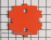 Battery plate - Part # 1763930 Mfg Part # 01178559
