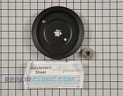 Pulley - Part # 2145988 Mfg Part # 112-0379