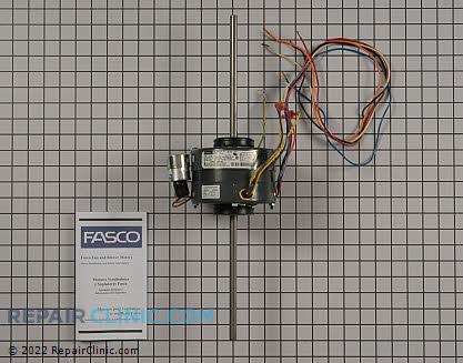Fasco furnace blower motor d221 for Blower motor capacitor symptoms