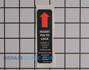 Label - Part # 1955672 Mfg Part # 940514001