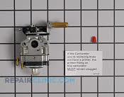 Carburetor - Part # 2249297 Mfg Part # 12300057731