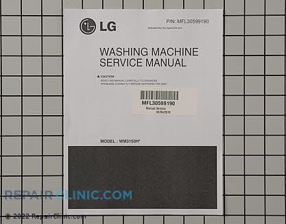 lg washing machine repair parts