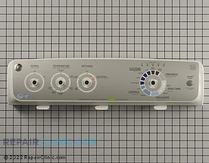 ge washing machine panel