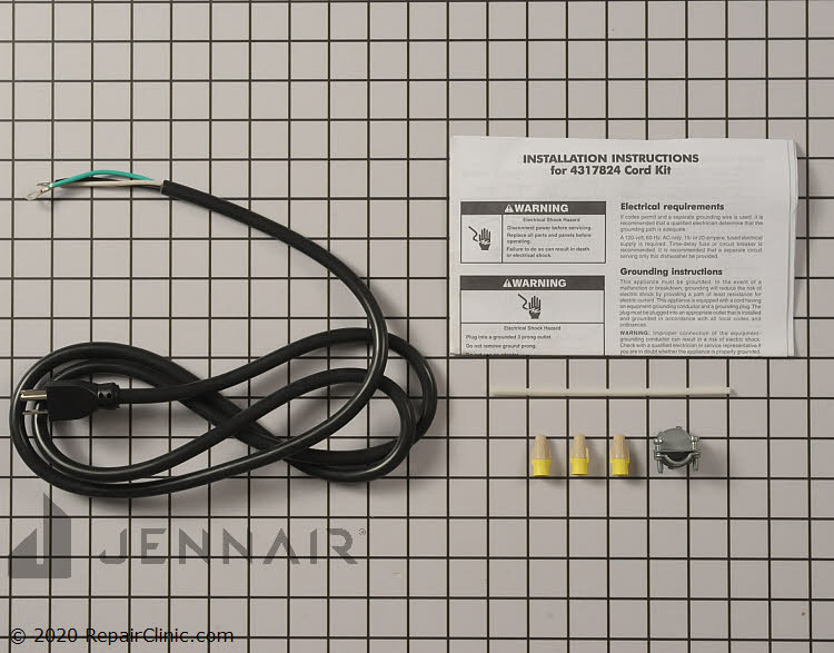 Replacement AC Power Cord 3 Prong 6ft for Jenn-AIR ATTREZZI Mixer Power Cord