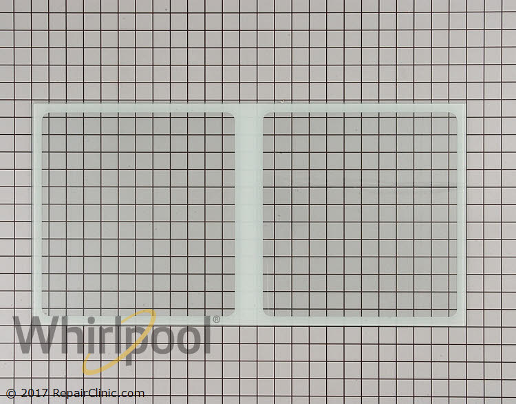 Whirlpool Part Number 67006877 Glass Crisper Cover