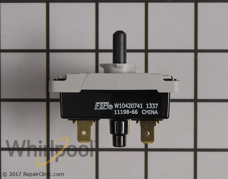 OEM Whirlpool W10420741 Dryer Switch
