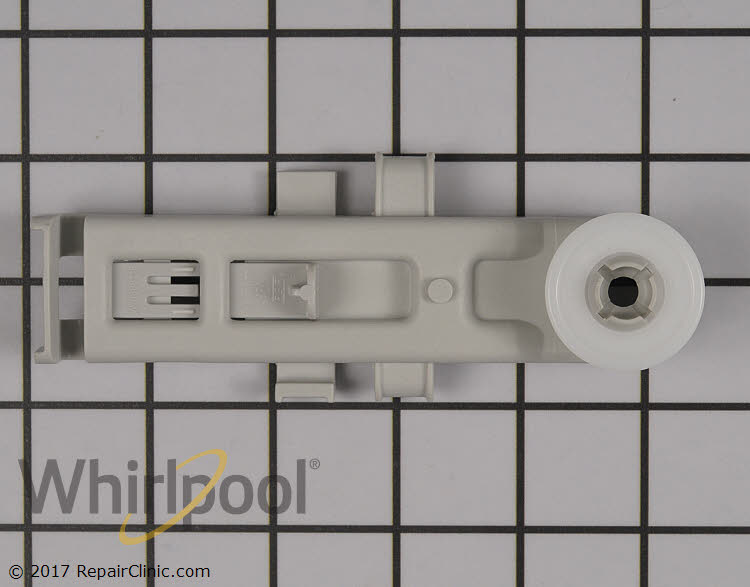 Set of 2-8575280 8575281 W10888592 OEM Whirlpool Upper Rack Rollers