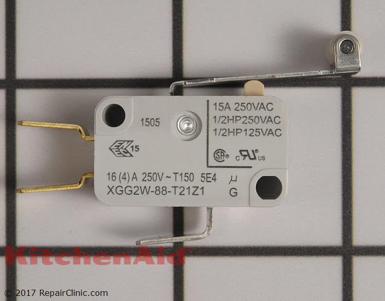 New KitchenAid Dishwasher Micro Switch Part# P-87711-70-1 4161246