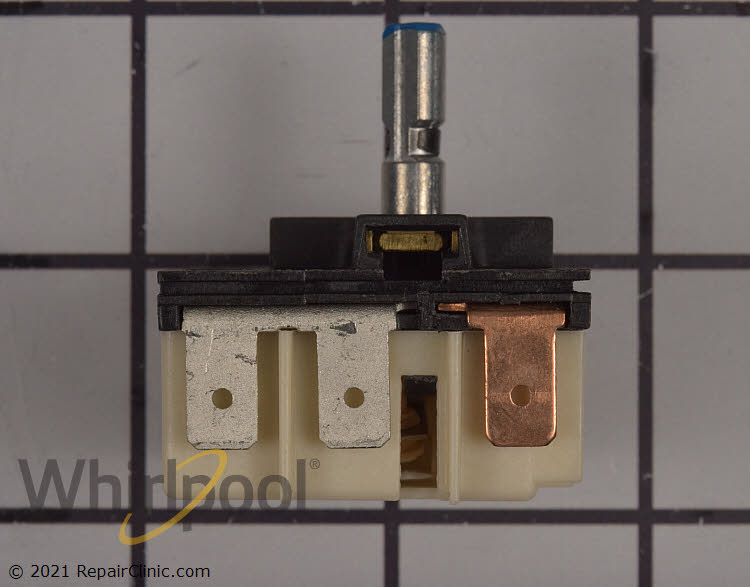 W11122006 WHIRLPOOL Range surface element control switch