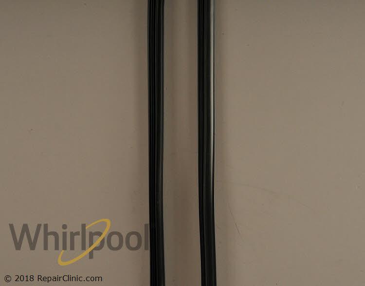 UpStart Components Brand W10542314 Dishwasher Door Gasket Replacement for Whirlpool DU1055XTSB3 Dishwasher Compatible with W10542314 Door Seal