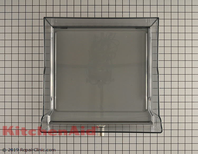 KitchenAid Refrigerator Crisper Drawer AssemblyW11028624 W10801137 Used