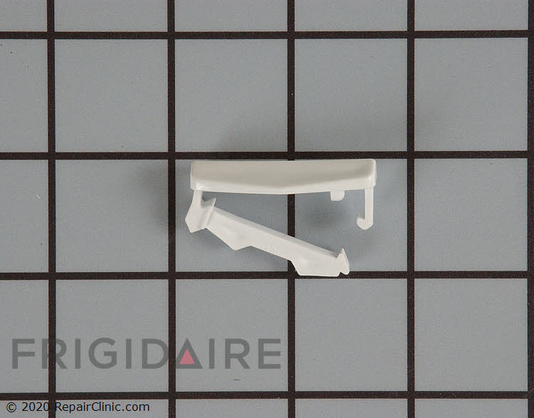 "Frigidaire Dishwasher Upper Dish rack /""Stop/"" 5300809927 White End Cap Part"