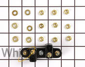 NEW MAYTAG 204439 DRYER FRONT COVER SCREW AND FASTENER KIT OEM