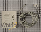 Whirlpool refrigerator water line installation