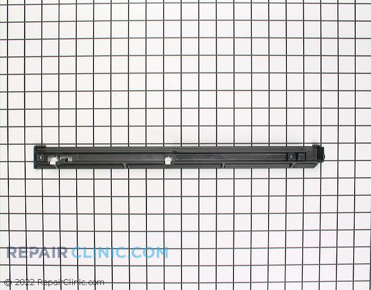 Drawer slide rail assembly, left hand side